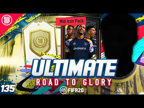 WHAT!!! MID ICON PACK!!! ULTIMATE RTG #135 - FIFA 20 Ultimate Team Road to Glory