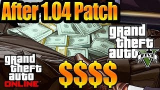 Grand Theft Auto V (GTA 5) Online How To Get Millions AFTER PATCH 1.04 Car Method
