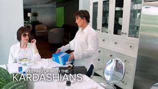KUWTK | Kris Jenner Slips Tracking Device in Mom's Shoes | E!