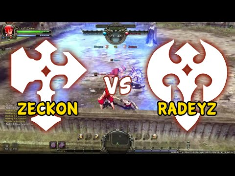 (EU) Mirror Kings - Warriors - Zeckon (Destroyer) vs Radeyz (Barbarian) - Dragon Nest PVP