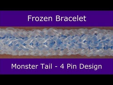 Monster Tail® Frozen Bracelet by Rainbow Loom
