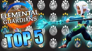 💧LES MEILLEURS MONSTRES 3★ EAU SUR Might and Magic Elemental Guardians-MMEG FR