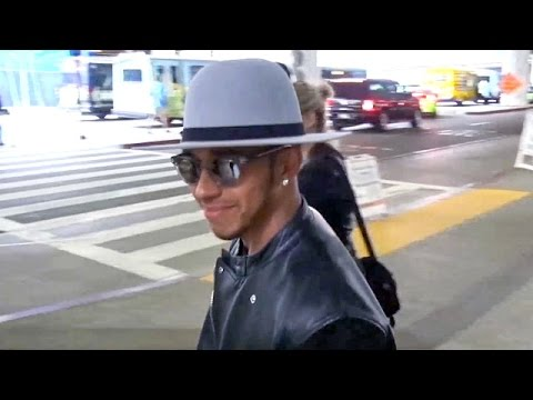 Lewis Hamilton Gives A Grin When Encouraged To Win Nicole Scherzinger Back