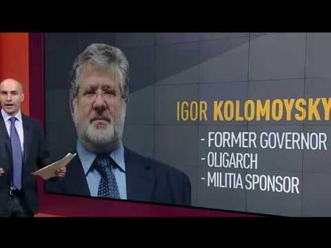 Ukrainian oligarchs Poroshenko and Kolomoyskiy