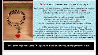 Praying Perils 2 Pearls with Beads