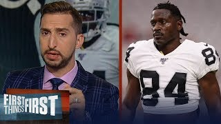Raiders are creating an escape plan from the Antonio Brown deal — Nick | NFL | FIRST THINGS FIRST