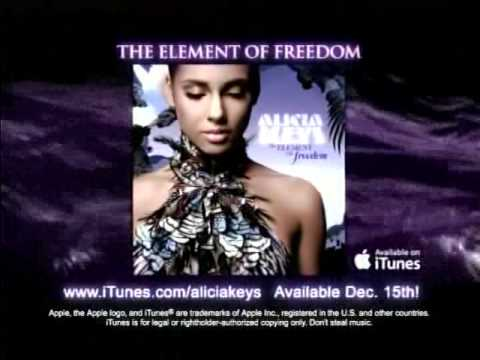 Alicia Keys - The Element Of Freedom Commercial