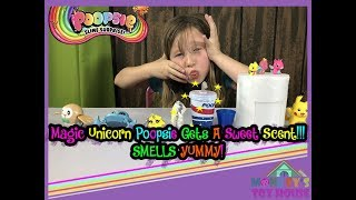 Magic Unicorn Poopsie Gets A Sweet Scent!!! SMELLS YUMMY! | Kids Toy Video