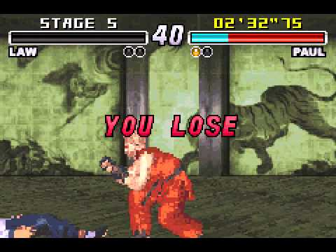 Tekken Advance - Tekken Advance (GBA) - Vizzed.com Play - User video