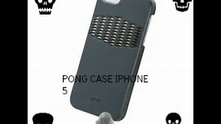 Pong case for iPhone 5/5s