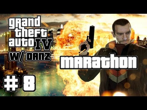 "GTA IV w/ Danz Pt8 MARATHON: ""DON'T DO DRUGS"""