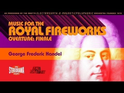 George Fredric Handel: Music for the Royal Fireworks Overture (Finale) Synthesized
