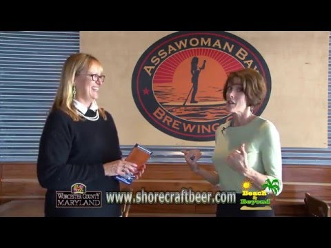 """Ann Hillyer - Local Breweries"" - For Worcester County Tourism"