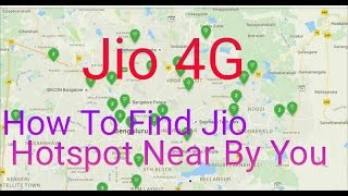 How To Find Jio Hotspot Near By Yourself
