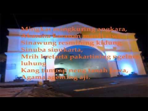 Serat Wedhatama Pupuh Pangkur Podo 1