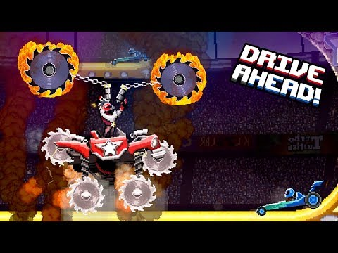 РЕЙД НА БОССА Этап #4 САМЫЙ ЖЕСТОКИЙ Drive Ahead мультяшная игра про машинки ДРАЙВ АХЕД битва тачек