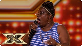 Panda Ross brings the house down with an Aretha Franklin belter! | Preview | The X Factor UK 2018