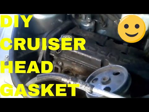 PT Cruiser: Engine. Head Gasket. Timing Belt. Motor Mount and Head Removal