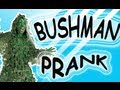 Bushwoman Ghillie scare prank Video