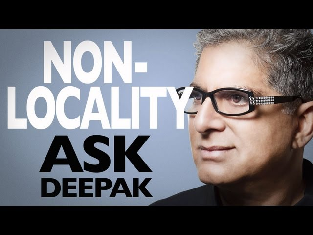 What Is Nonlocality (with Marilyn Schlitz)? Ask Deepak!