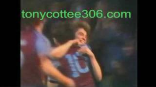 Tony Cottee scores his first ever goal on debut on New Year's Day, 1983