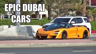 Supercars in Dubai 2020 JAN Part 2 - Lamborghinis, Ferraris, McLaren's & more..