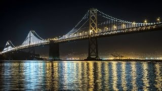 Download Lagu Instrumental Background Chillout Music: Easy Listening Relaxing Lounge Music, Bay Bridge At Night Gratis STAFABAND