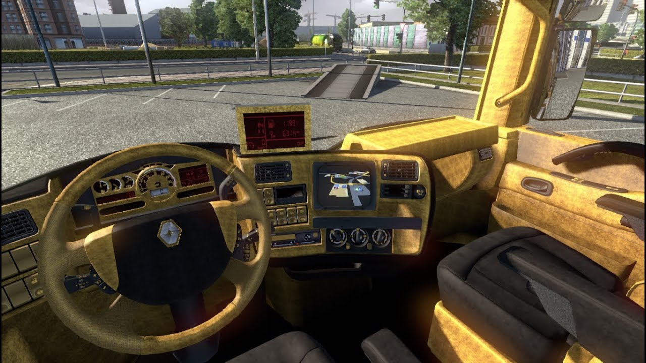 renault magnum gold edition i euro truck simulator 2 mods. Black Bedroom Furniture Sets. Home Design Ideas