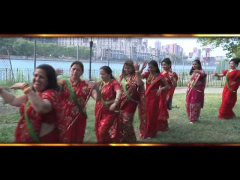Teej ko Samjhana aayo barilai in America by Pabita Pariyar