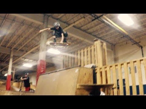 The Edge Indoor skate park Lock In #2