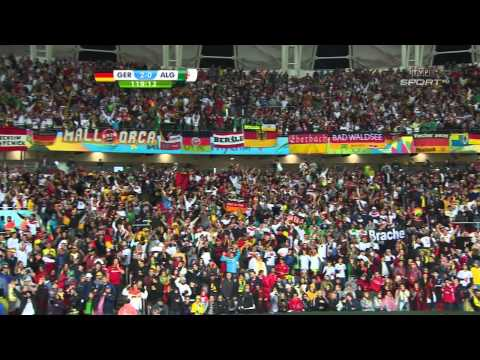 World Cup 2014 Round of 16 Germany vs Algeria 2014 All Goals/Niemcy - Algieria