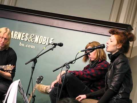 ERIC ERLANDSON + MELISSA AUF DER MAUR Paint A Vulgar Picture BARNES & NOBLE NYC April 5 2012