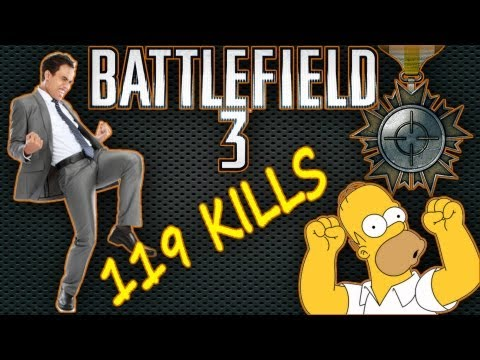 Battlefield 3 - 119 Kills - Team Deathmatch