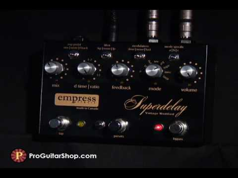Empress Superdelay Gilmour Tribute