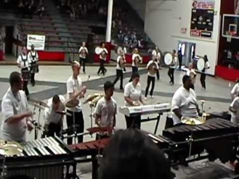Perk Drum Line, Harrison Central high school. 2-2-13