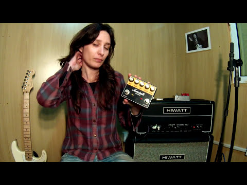 Tatiana Pará - SRV (Eric Johnson) with Darta Effects pedals