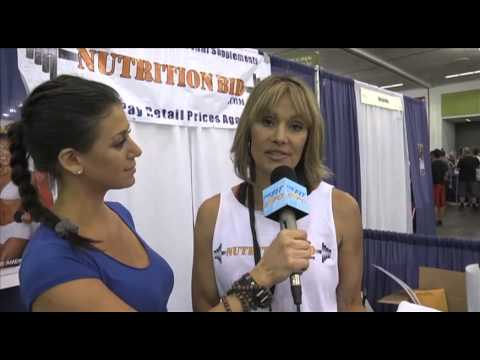 Cory Everson Interview At The San Jose Fit Expo 2012