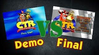DEMO VS FINAL │ Crash Team Racing - Manu