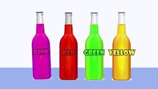 Color Changing Bottle - Color Learning | Kids Nursery Rhymes | Supermerllo Kids TV