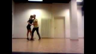 Kizomba New Style 2016, Martin & Nadine (Belarus/Switzerland) - training session