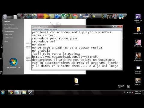 problemas con windows media player y media center