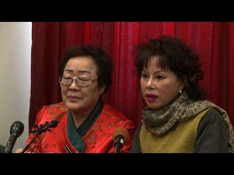 Former 'comfort woman' demands apology from Japan