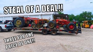 Our $400 Load Of Tractors!