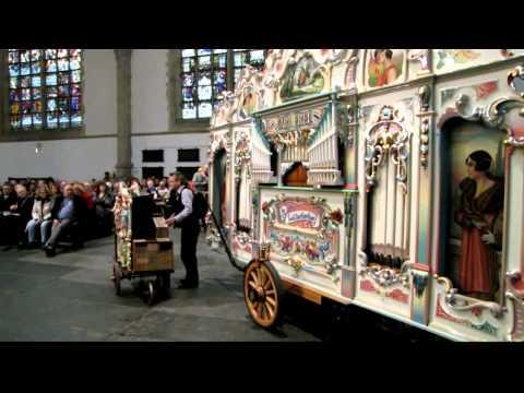 Kerkorgel en draaiorgel in dialoog - Gouda bij Kaarslicht 13-12-2011