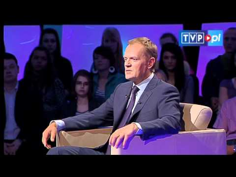 Tomasz Lis na żywo: Donald Tusk