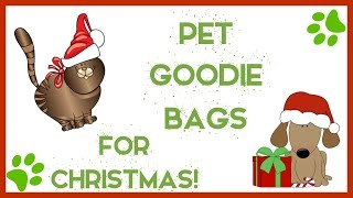Pet Goodie Bags for Christmas | Cat & Dog Gifts!