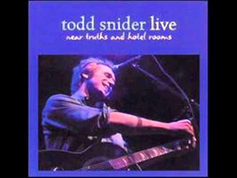 Todd Snider - Talking Seattle Grunge Rock Blues