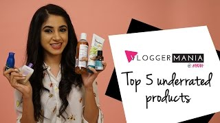 Top 5 Underrated Products Ft. Aashna Shroff | Nykaa