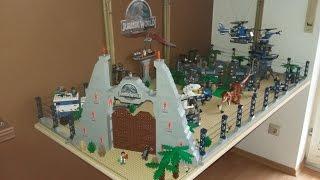 Lego Jurassic World  (Park) - MOC -