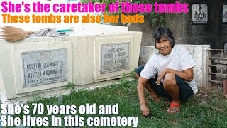 Travel to Manila Philippines and Meet these People Who Live in a Cemetery. The Grave Diggers